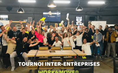 Le premier tournoi inter-entreprises WORKANDMOVE® 2019