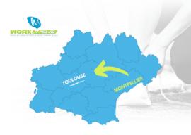 WORK&MOVE® se déploie en Région Toulousaine