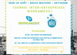 Tournoi WORK&MOVE® Beach Masters 2019