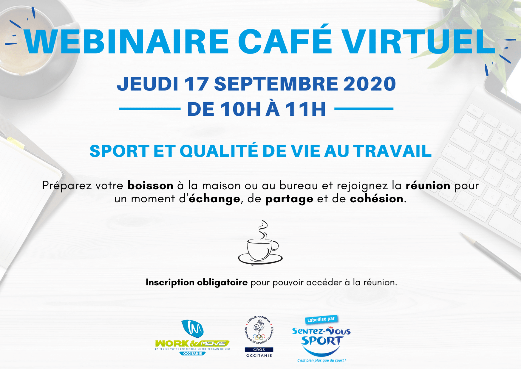 Webinair café virtuel